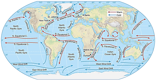 study guide for tides of ocean currents