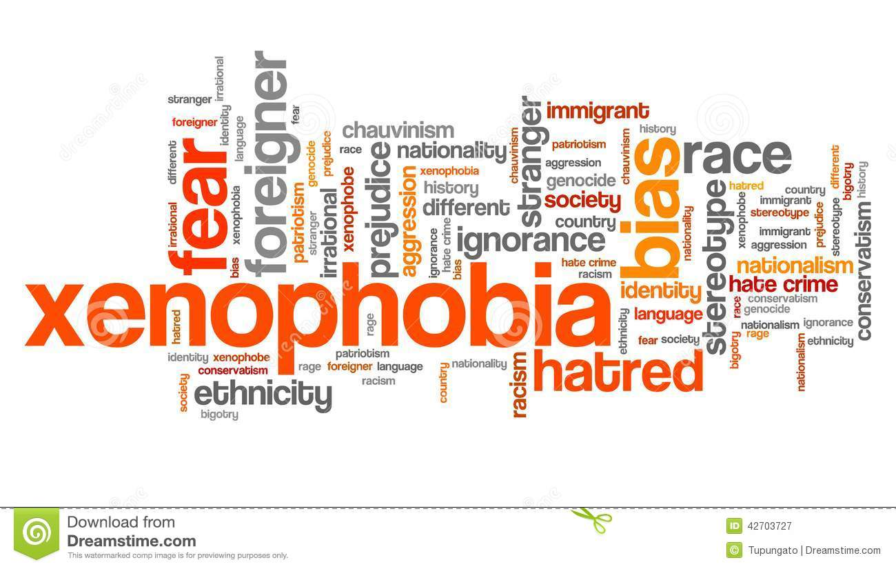 what are the terms of xenophobia