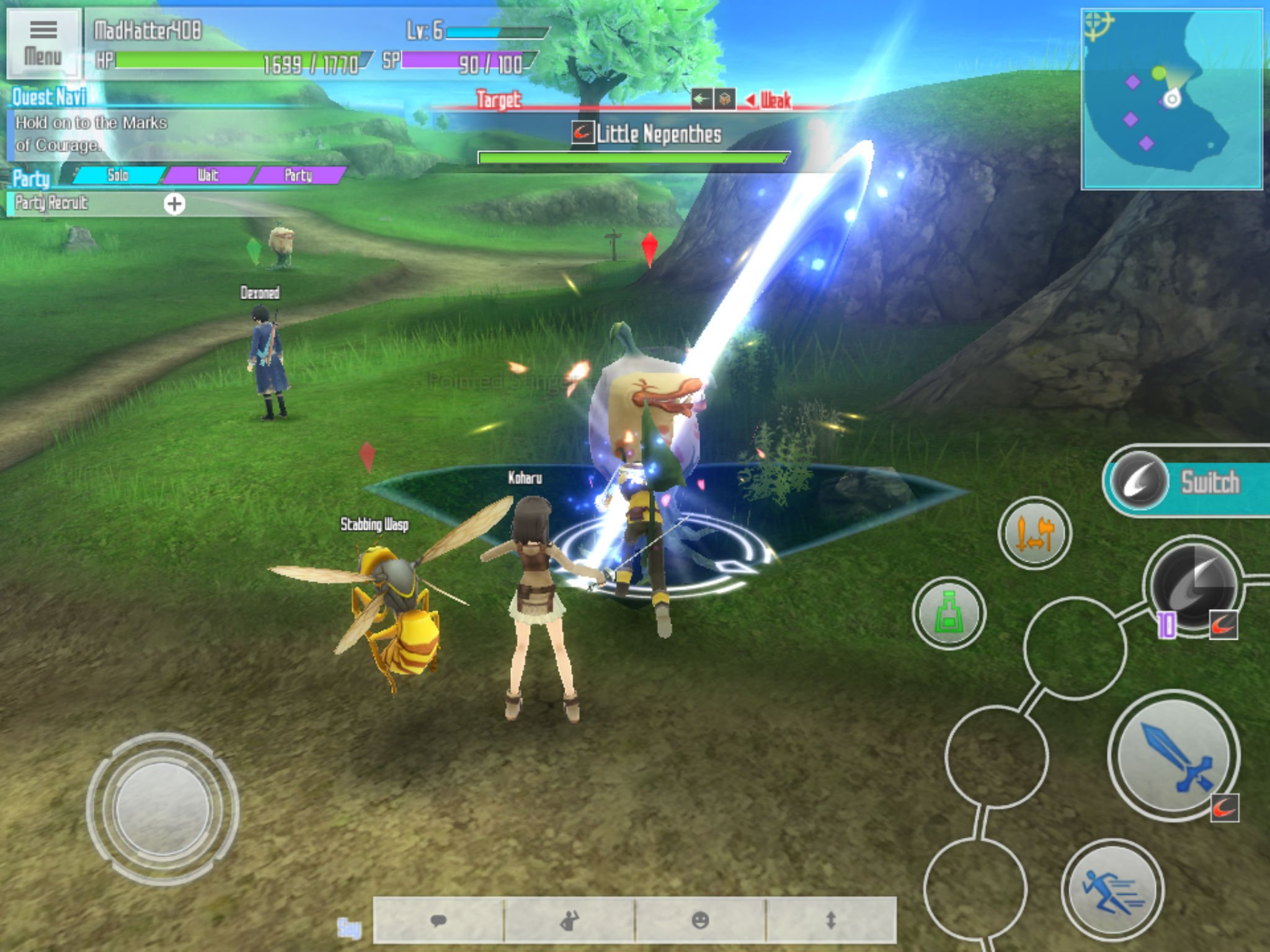 sword art online integral factor grinding guide