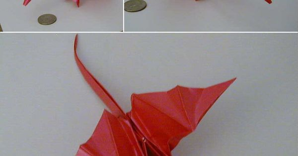 origami dragon step by step instructions advanced