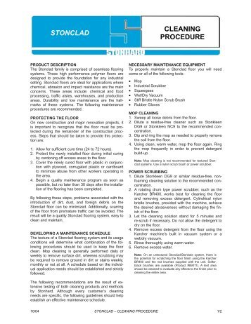procedures for office cleaning pdf