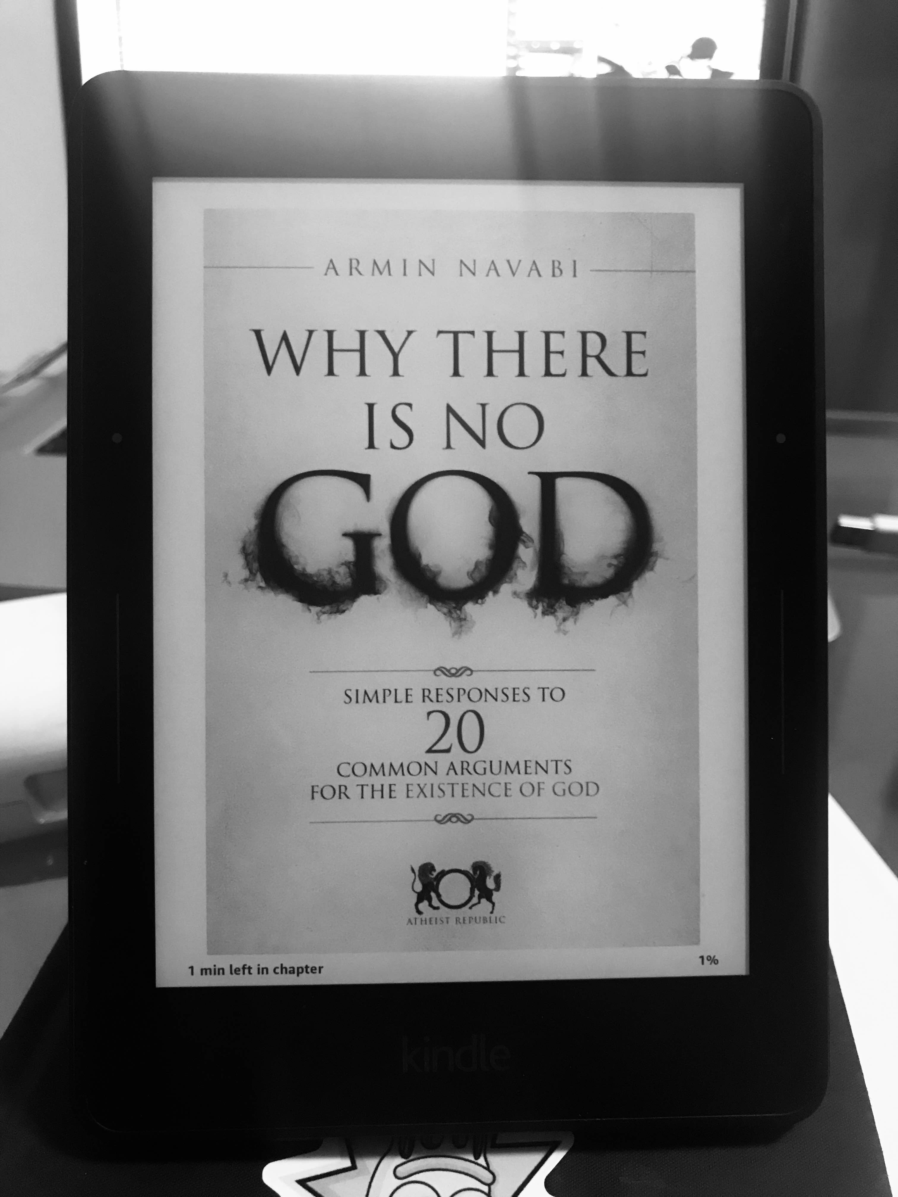 why there is no god armin navabi free pdf