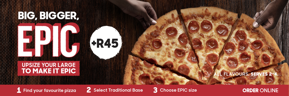pizza hut south africa menu pdf