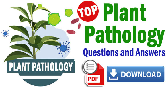 plant pathology multiple choice questions and answers pdf