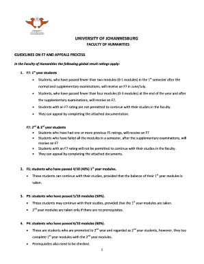 pdf requirements for uj admission