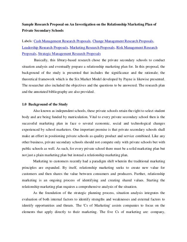 research proposal in hrm pdf