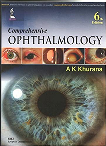 ophthalmology khurana 6th edition pdf
