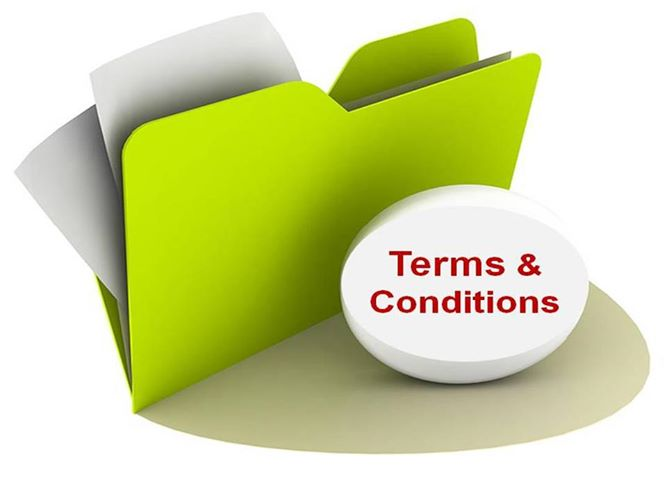 payment terms and conditions for travel agency