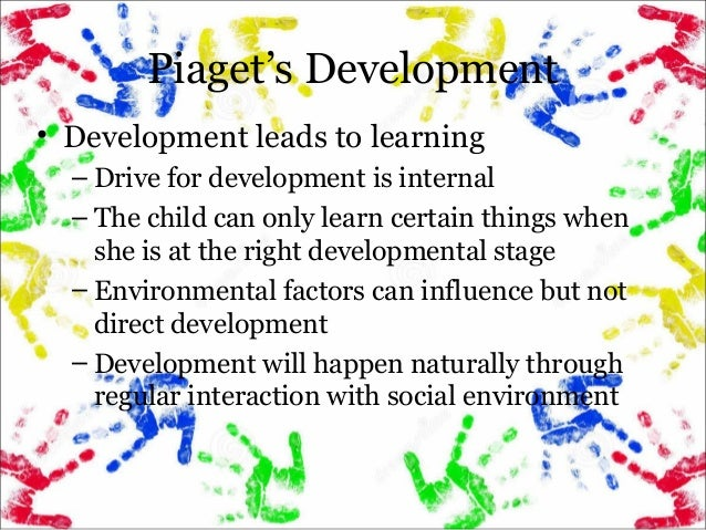 piaget stages of cognitive development pdf