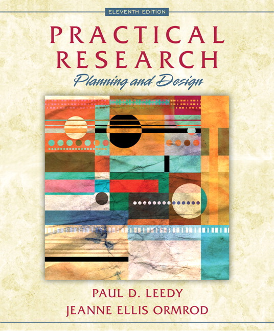 practical research planning and design leedy pdf