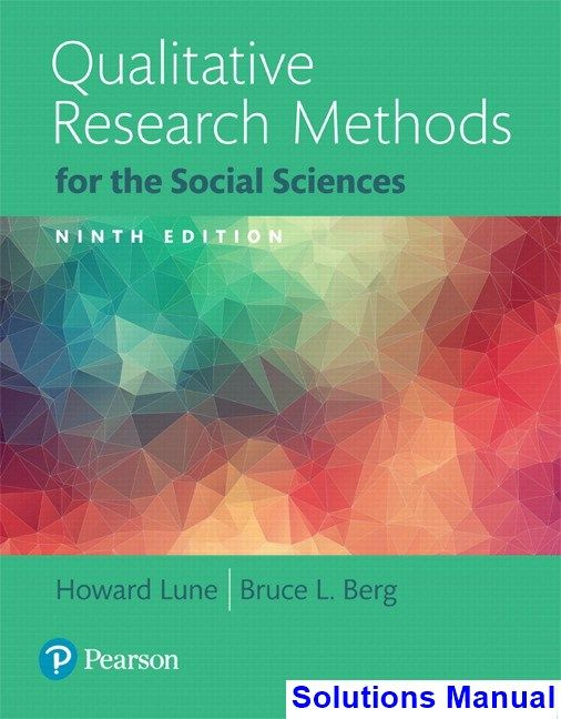 qualitative research methodology book pdf