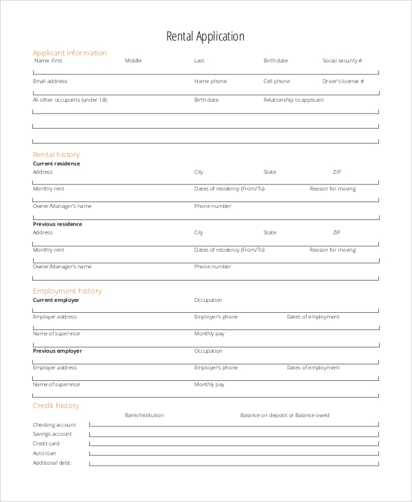 rdp house application form pdf