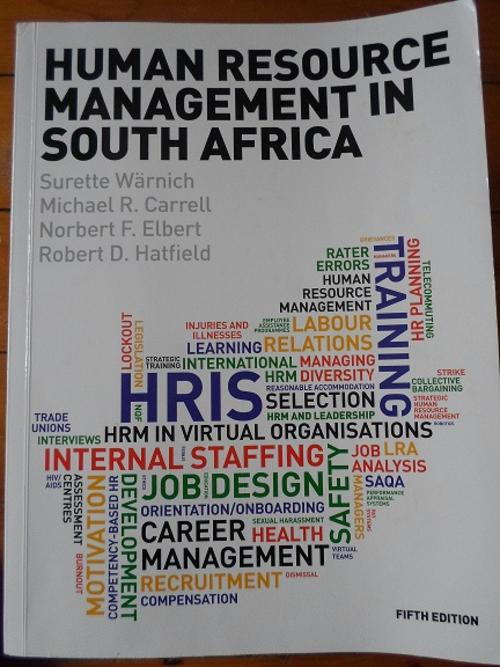 south african human resource management for the public sector pdf
