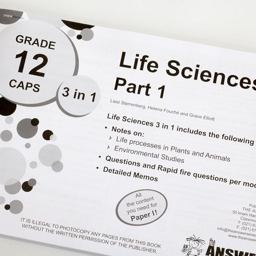 understanding life sciences grade 12 caps study guide